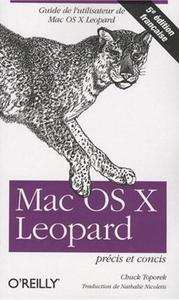 MAC OS X LEOPARD : PRECIS ET CONCIS - 5E EDITION