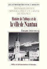NANTUA (HISTOIRE DE L'ABBAYE ET DE LA VILLE DE)