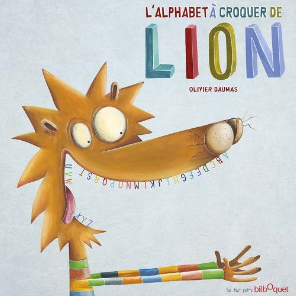 L'ALPHABET A CROQUER DE LION