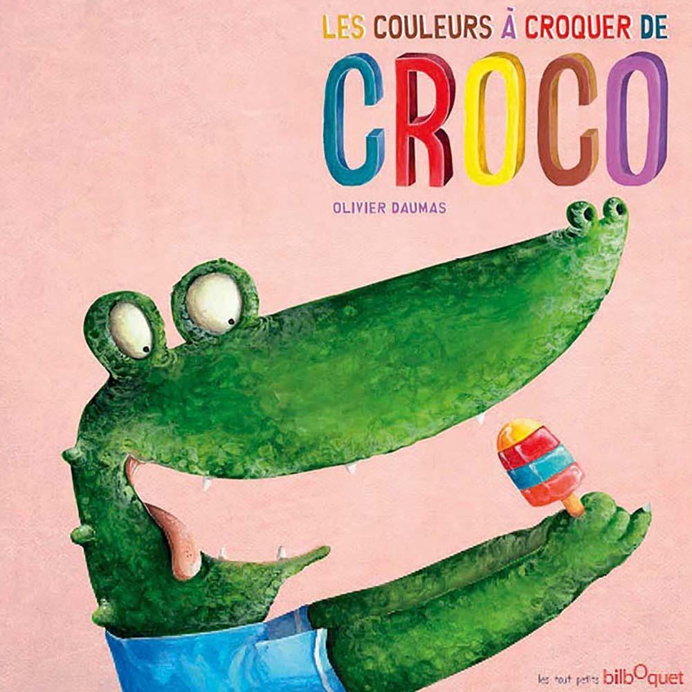 LES COULEURS A CROQUER DE CROCO