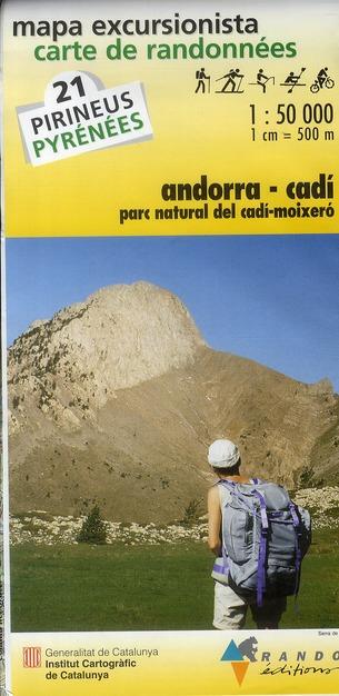 21 ANDORRA/CADI  1/50.000