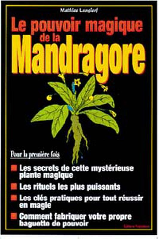 LE POUVOIR MAGIQUE DE LA MANDRAGORE