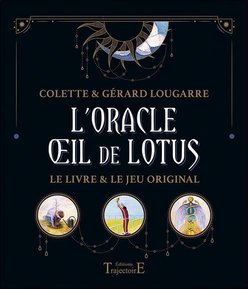 L'ORACLE OEIL DE LOTUS - COFFRET - LE LIVRE ET LE JEU ORIGINAL