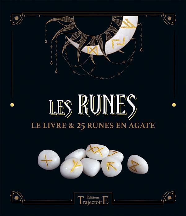 LES RUNES - LE LIVRE & 25 RUNES EN AGATE - COFFRET