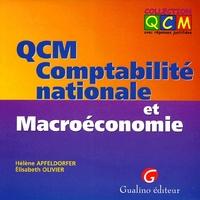 QCM. COMPTABILITE NATIONALE ET MACROECONOMIE