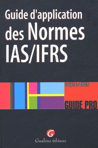 GUIDE D'APPLICATION DES NORMES IAS/IFRS