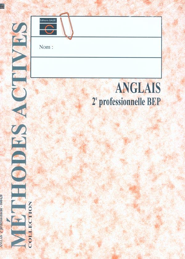 ANGLAIS 2E PRO ELEVE