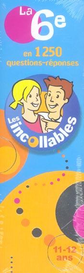 LES INCOLLABLES 6EME 11-12 ANS 2006