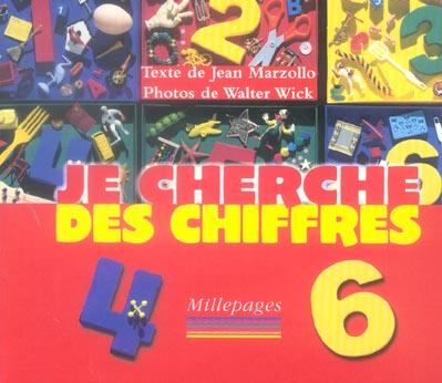 JE CHERCHE DES CHIFFRES