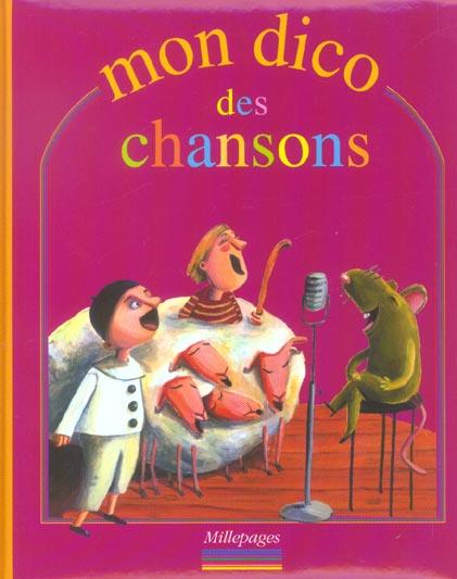MON DICO DES CHANSONS