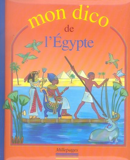 DICO DE L'EGYPTE (MON)
