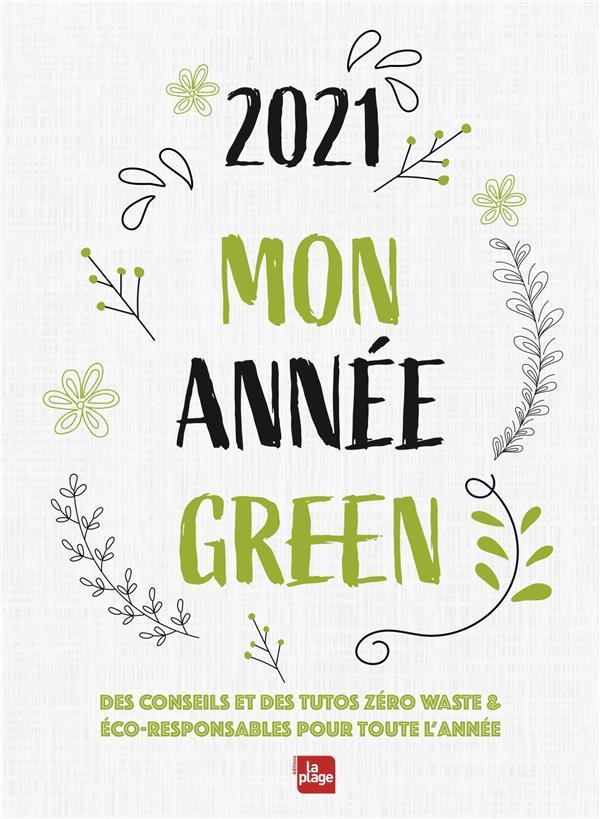 AGENDA 2021 MON ANNEE GREEN POCHE