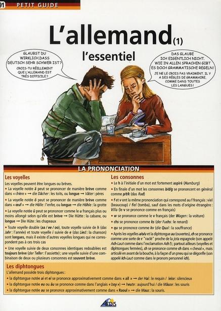 L'ALLEMAND (1) L'ESSENTIEL
