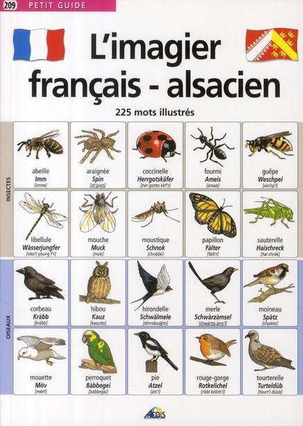 IMAGIER FRANCAIS/ALSACIEN