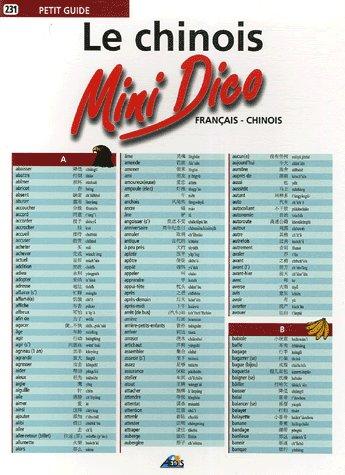 MINI DICO FRANCAIS/CHINOIS