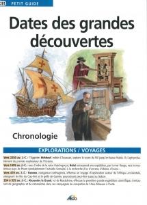 DATES DES GRANDES DECOUVERTES