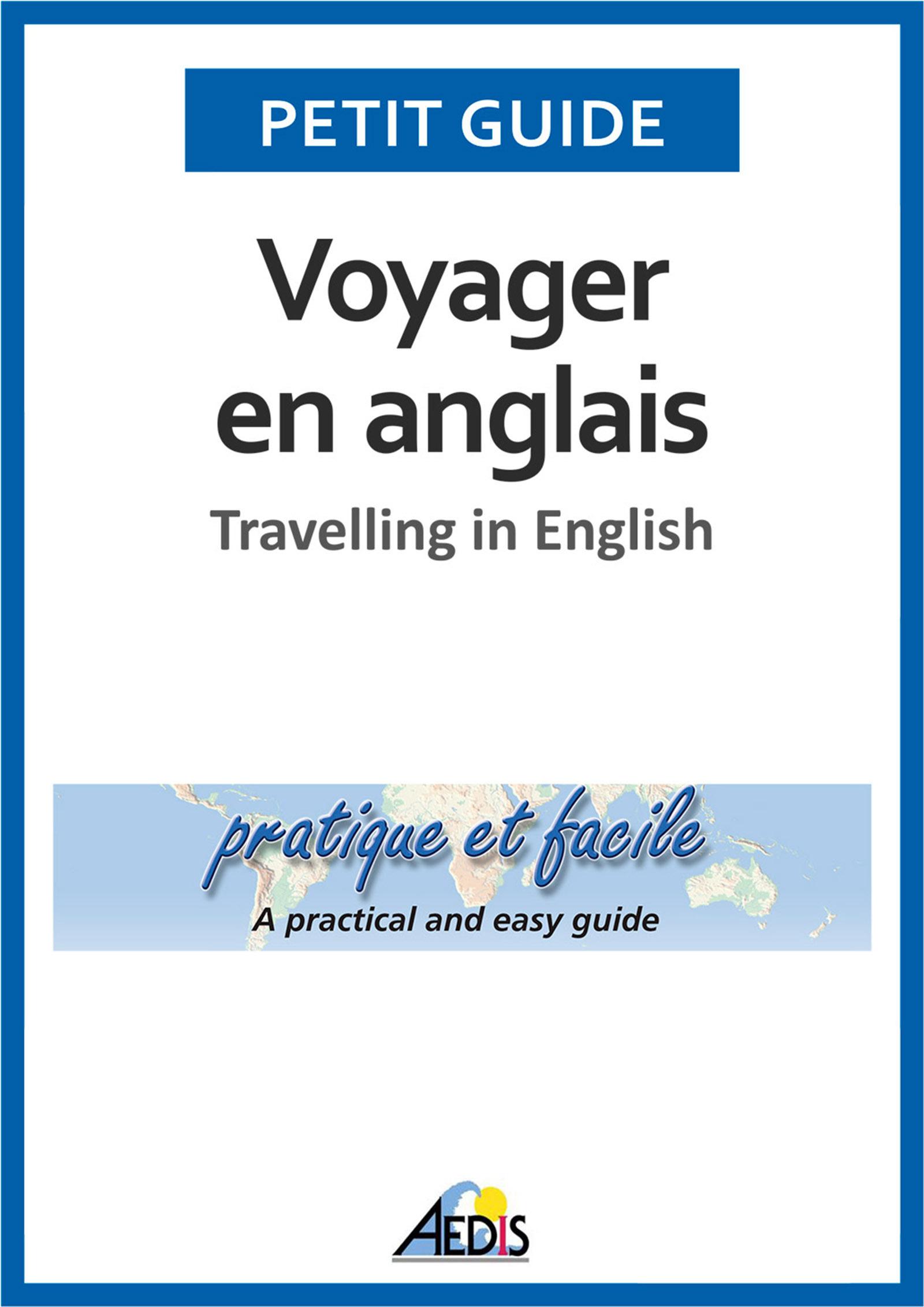 Voyager en anglais