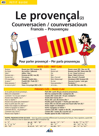 LE PROVENCAL (2), LA CONVERSATION