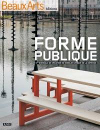 FORME PUBLIQUE-1ERE BIENNALE DE CREATION DE MOBILIER URBAIN DE LA DEFENSE