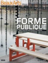 FORME PUBLIQUE - 1ST URBAN FURNITURE DESIGN BIENNIAL AT LA DEFENSE (ANGLAIS)