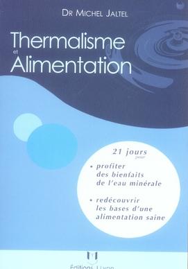 THERMALISME ET ALIMENTATION