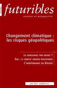 CHANGEMENT CLIMATIQUE : LES RISQUES GEOPOLITIQUES