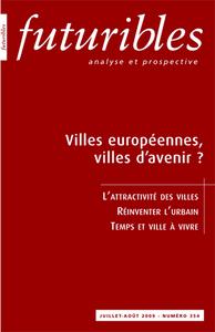VILLES EUROPEENNES, VILLES D'AVENIR ?