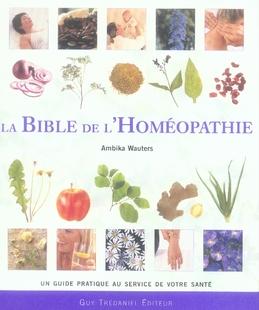 BIBLE DE L'HOMEOPATHIE