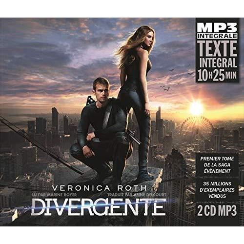 DIVERGENTE (INTEGRALE MP3), LU PAR MARINE ROYER - TRADUIT PAR ANNE DELCOURT