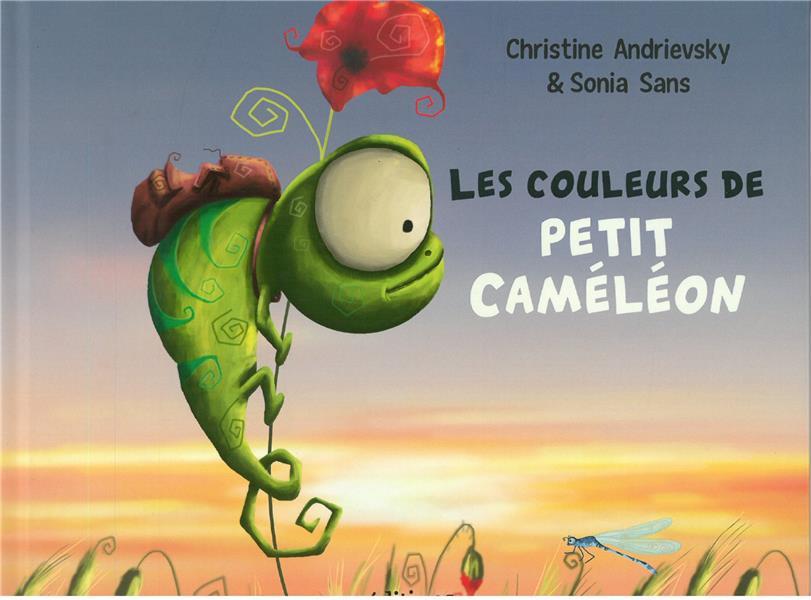 LES COULEURS DE PETIT CAMELEON