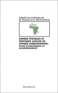 NORMES ETATIQUES ET PRATIQUES LOCALES EN AFRIQUE SUBSAHARIEN
