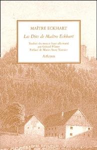DITS DE MAITRE ECKHART (LES)