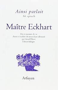 AINSI PARLAIT MAITRE ECKHART