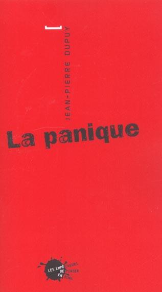 LA PANIQUE (N.E.)