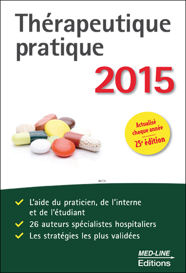THERAPEUTIQUE PRATIQUE 2015