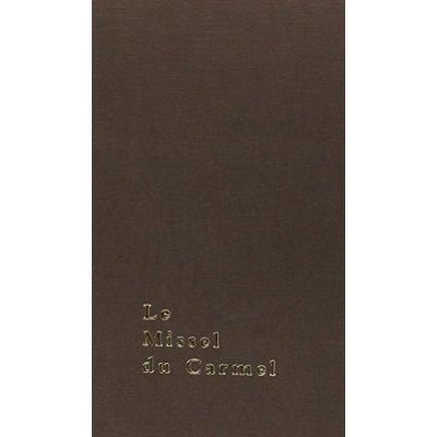 LE MISSEL DU CARMEL