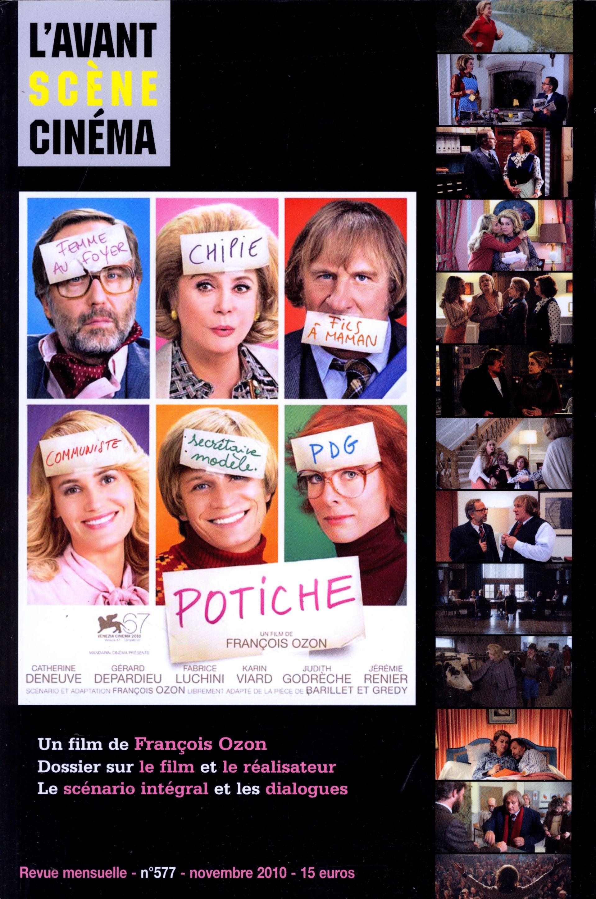 L'AVANT-SCENE CINEMA N 577 : POTICHE