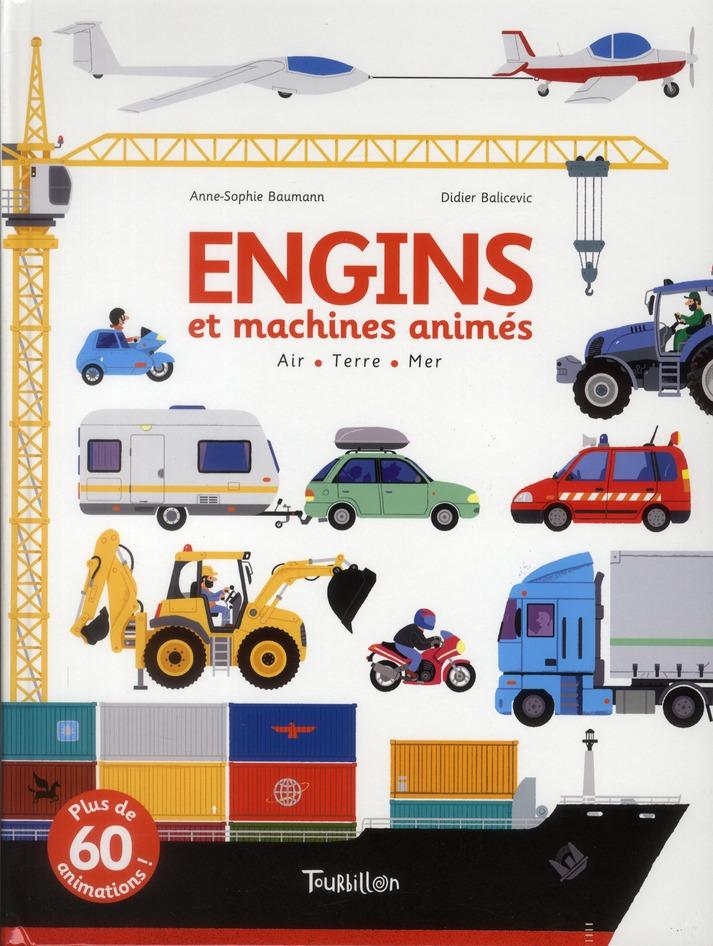 ENGINS ET MACHINES ANIMES