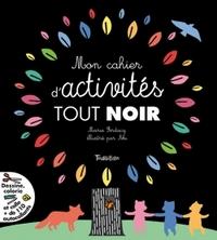 MON CAHIER D'ACTIVITES TOUT NOIR