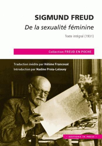 DE LA SEXUALITE FEMININE
