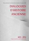 DIALOGUES D'HISTOIRE ANCIENNE, N  40/2 - 2014