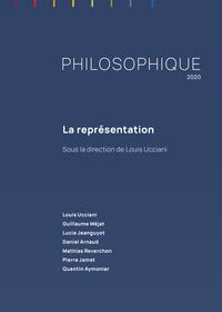 PHILOSOPHIQUE 2020. LA REPRESENTATION
