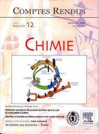 COMPTES RENDUS ACADEMIE DES SCIENCES, CHIMIE, TOME 7, FASC 12, DECEMBRE 2004 : CHIMIE DES ACTINIDES