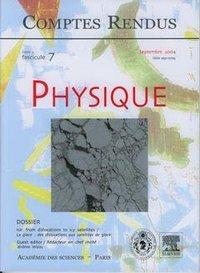 COMPTES RENDUS ACADEMIE DES SCIENCES, PHYSIQUE, TOME 5, FASC 7, SEPTEMBRE 2004 : ICE : FROM DISLOCAT