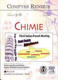 COMPTES RENDUS ACADEMIE DES SCIENCES, CHIMIE, TOME 6, FASC 5-6, JUIN 2003 : CHIMIE ORGANIQUE AUX INT