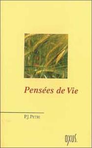 PENSEES DE VIE