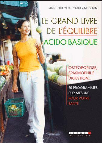 LE GRAND LIVRE DE L'EQUILIBRE ACIDO-BASIQUE