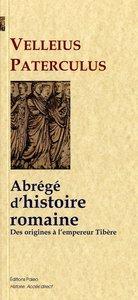 ABREGE D'HISTOIRE ROMAINE, DES ORIGINES DE ROME A L'EMPEREUR TIBERE.