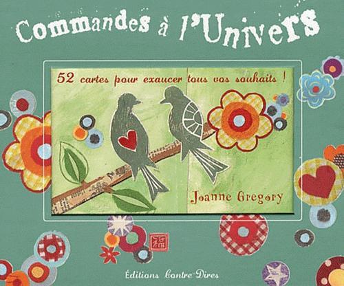 COMMANDES A L'UNIVERS