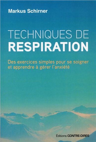 TECHNIQUES DE RESPIRATION